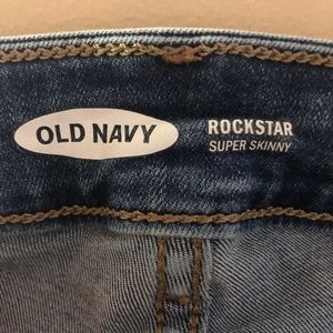 Old Navy Jeans - ❌❌SOLD❌❌ Distressed Skinny Jeans